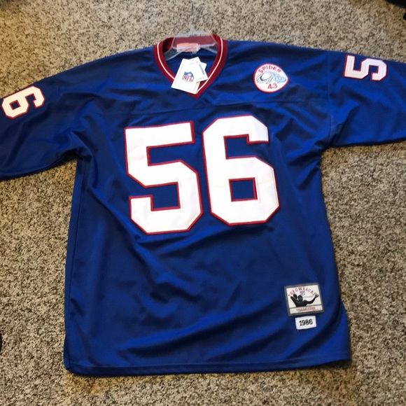 buy popular dff73 9ffb8 Mitchell & Ness Giants Lawrence Taylor #56 Jersey NWT